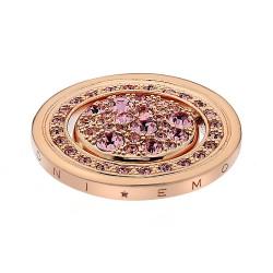 Přívěsek Hot Diamonds Emozioni Estate e Primavera Rose Gold Coin