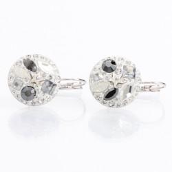 Náušnice s krystaly Swarovski Rivoli 11400808TV