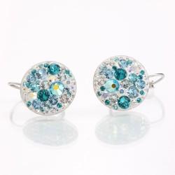 Náušnice s krystaly Swarovski Rivoli 11400808AQ