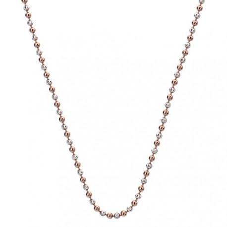 Stříbrný řetízek Hot Diamonds Emozioni Bead Silver Rose 76