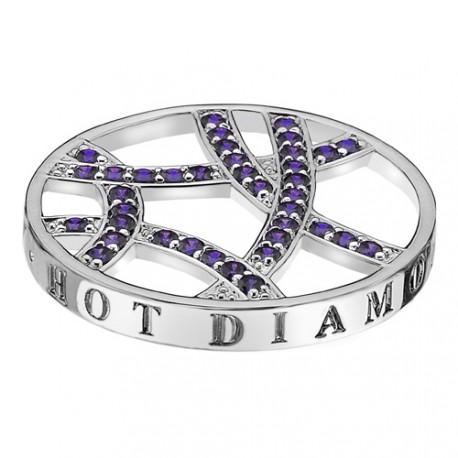 Přívěsek Hot Diamonds Emozioni Fantasy Sparkle Arc Coin