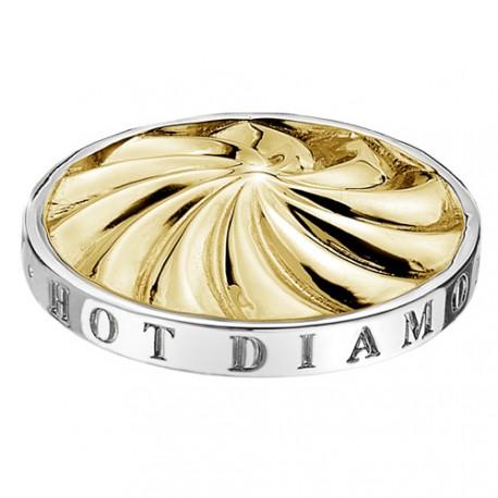 Přívěsek Hot Diamonds Emozioni Golden Windmill Coin