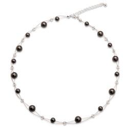 Náhrdelník s perlami Sunny Pearl Black