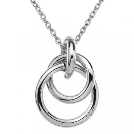 Stříbrný přívěsek Hot Diamonds Eternity Interlocking DP372