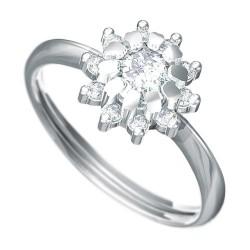 Zásnubní prsten s briliantem Dianka 807