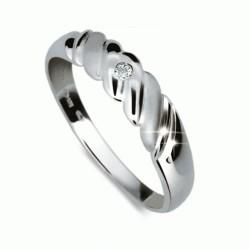 Briliantový prsten Danfil DF1207