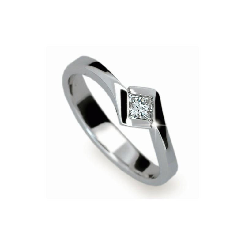 Briliantový prsten Danfil DF1977 - NAUSNICE.CZ fe4e244a749
