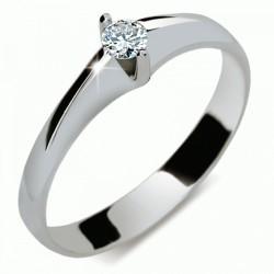 Prsten s briliantem Danfil DF1956