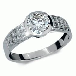 Briliantový prsten Danfil DF1889