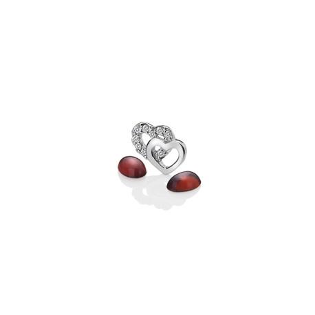 Přívěsek Hot Diamonds Srdíčka Anais element EX106