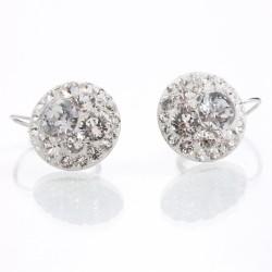 Náušnice s krystaly Swarovski Rivoli 11400808CR