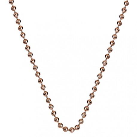 Stříbrný řetízek Hot Diamonds Emozioni Bead Rose 45