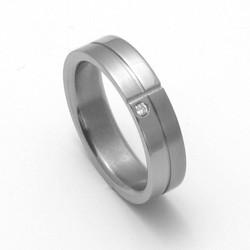 Dámský titanový snubní prsten TTN2102