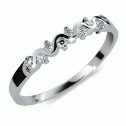 Prsten s brilianty Danfil DF2086