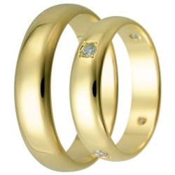 Snubní prsteny kolekce HARMONY29-30