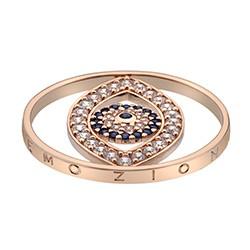 Přívěsek Hot Diamonds Emozioni Eye Sparkle Rose Gold Coin