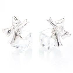 Náušnice s krystaly Swarovski 11400795CR