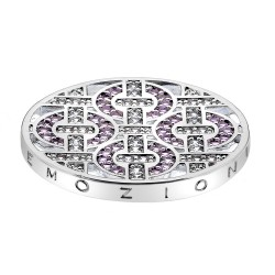 Přívěsek Hot Diamonds Emozioni Telaio Pink Coin