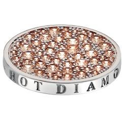 Přívěsek Hot Diamonds Emozioni Scintilla Champagne Loyalty Coin