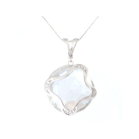 Stříbrný přívěsek s krystaly Swarovski Butterfly Crystal