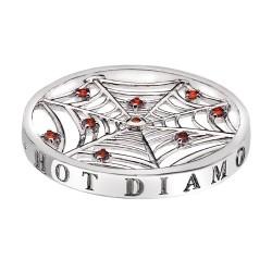 Přívěsek Hot Diamonds Emozioni Consistenza Web Coin