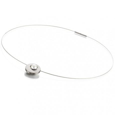 Ocelový náhrdelník TeNo Orbit Mona 019-38PW01