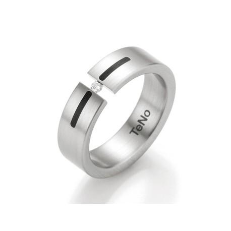 Prsten s diamantem TeNo Basix Yunis 064-0224-D24