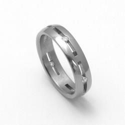 Dámský titanový snubní prsten TTN2302