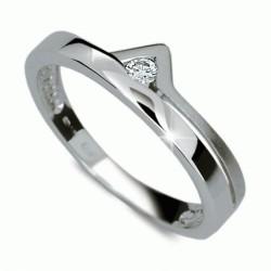 Briliantový prsten Danfil DF1565