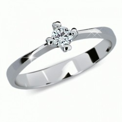 Prsten s briliantem Danfil DF2089