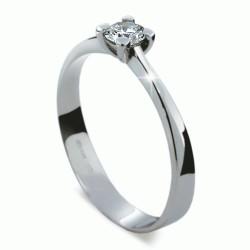 Prsten s briliantem Danfil DF1905