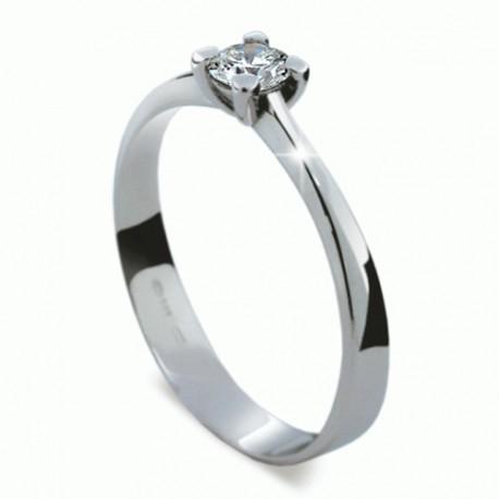 Prsten s briliantem Danfil DF1905 - NAUSNICE.CZ 6e7b5f8f490