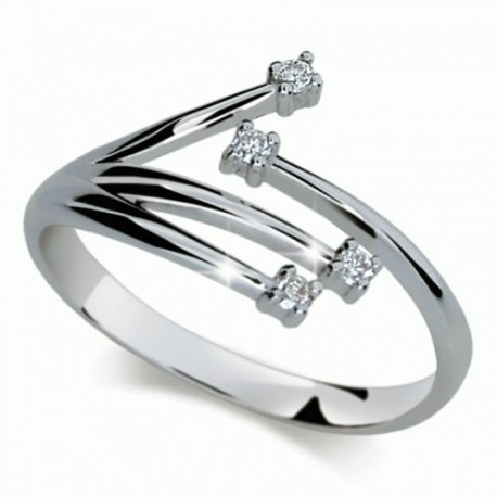 Prsten s brilianty Danfil DF2063 - NAUSNICE.CZ 4ee5be4af25