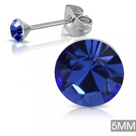 Ocelové pecky - tmavě modré