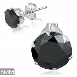 Ocelové pecky - černé
