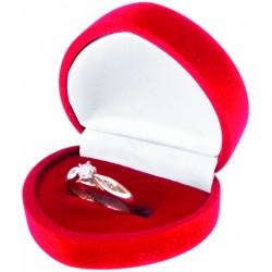 Dárková krabička srdce AMORE červená