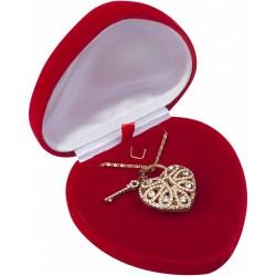 Dárková krabička srdce AMORE Valentýn