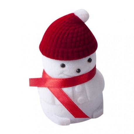 Krabička vánoční sněhulák