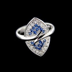 Stříbrný prsten R676