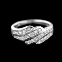 Stříbrný prsten R701
