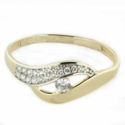 Zlatý prsten R25-2194