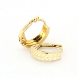 Zlaté náušnice E10337-056