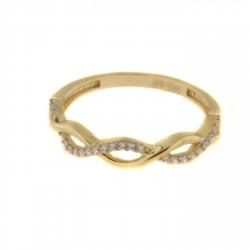 Zlatý prsten R125-962