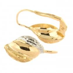 Zlaté náušnice N0014