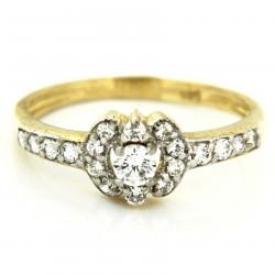 Zlatý prsten A-HF-36