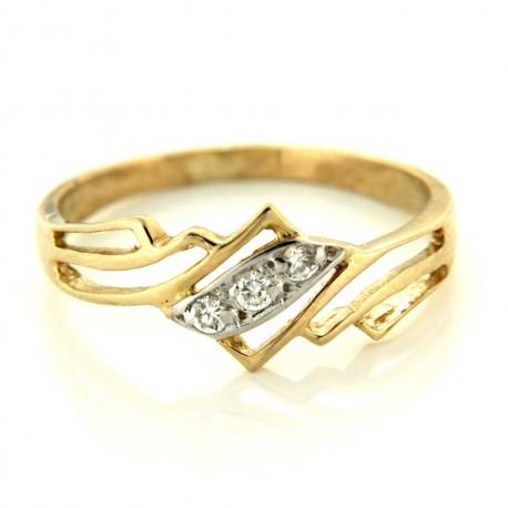 Zlatý prsten A-HF-25