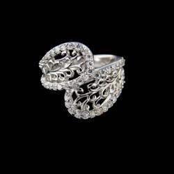 Stříbrný prsten R531