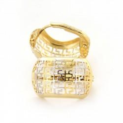 Zlaté náušnice E10084-180-2