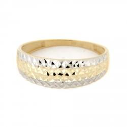Zlatý prsten TS519