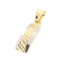 Zlatý přívěs P10333-1350
